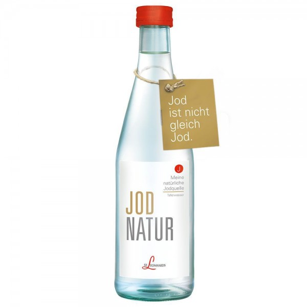 St. Leonhard Mineralwasser JodNatur 12x0,33l