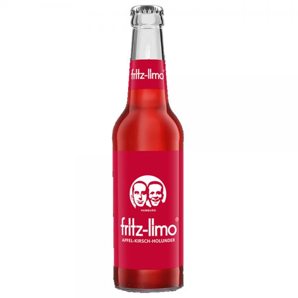 Fritz Limo Apfel Kirsch Holunder 24x0,33 l
