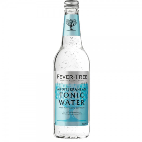 Fever-Tree Mediterranean Tonic Water 8x0,5l