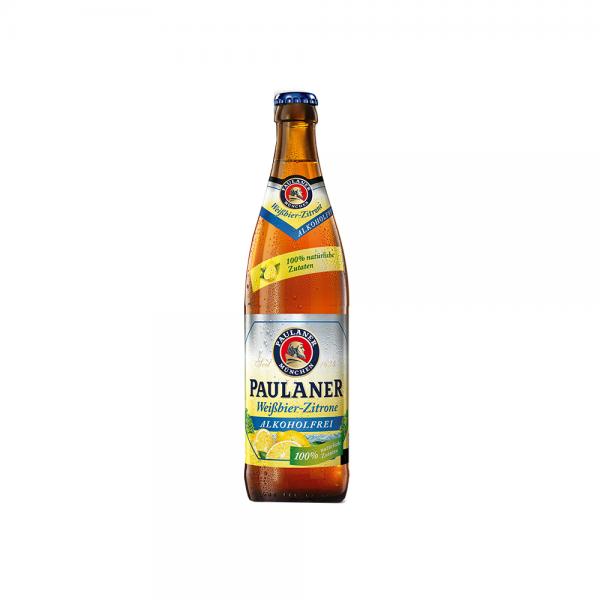 Paulaner Weißbier Zitrone Alkoholfrei 20x0,5 l