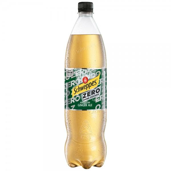 Schweppes Ginger Ale Zero 6x1,0l