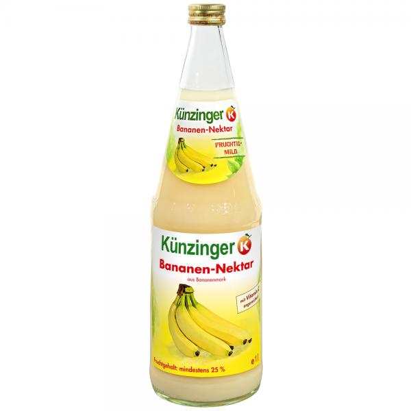 Künzinger Bananen-Nektar 25% 6x1,0l