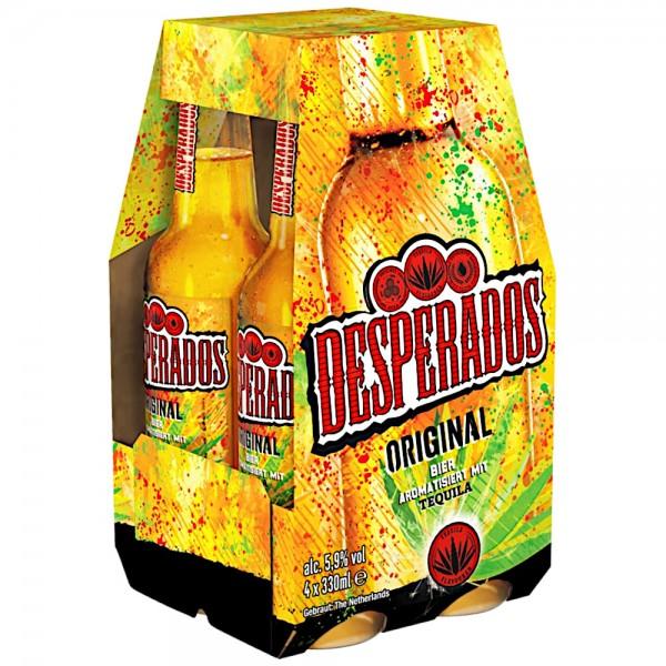 Desperados 4x0,33l