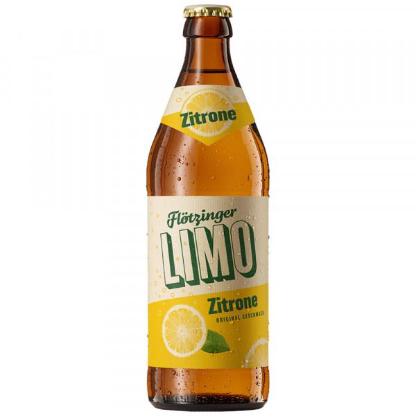 Flötzinger Zitronen-Limonade 20x0,5l