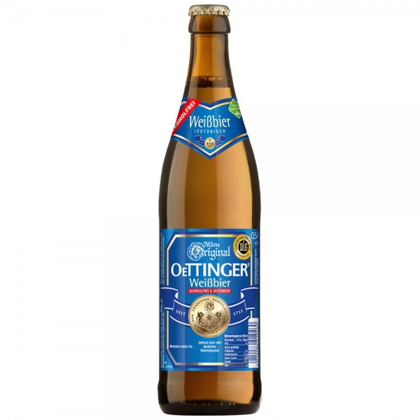 Oettinger Weissbier Alkoholfrei 20x0,50l