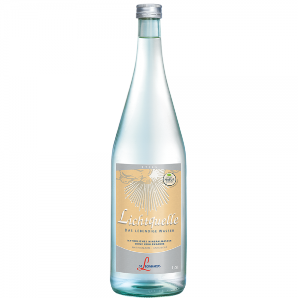 St. Leonhard Mineralwasser Lichtquelle 6x1,0 l