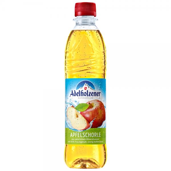 Adelholzener Apfelschorle 12x0,5 l