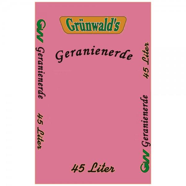 Grünwald´s Geranienerde 45 Liter - Gärtnerqualität