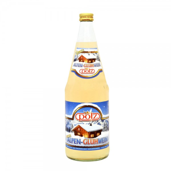 Pölz Alpen-Glühwein weiß 6x1,0l