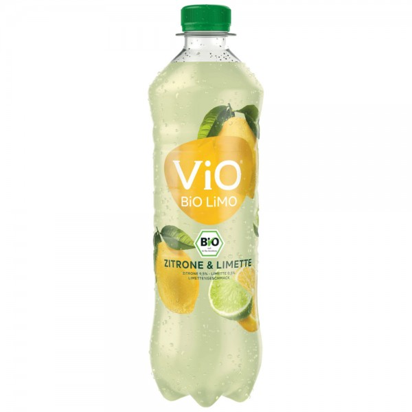 Vio Bio Limo Zitrone & Limette 12x0,5l - MHD 30.04.2021