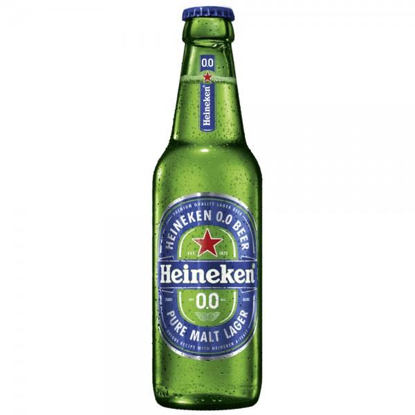 Heineken alkoholfrei 0,0% 4x6x0,33l - MHD 30.06.2021