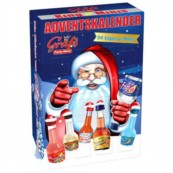 "Gräf's Adventskalender 24 x 20ml – ""Merry Gräf's-MAS"""