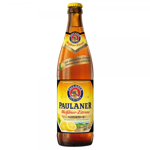 Paulaner Weißbier Zitrone Russ 20x0,5 l