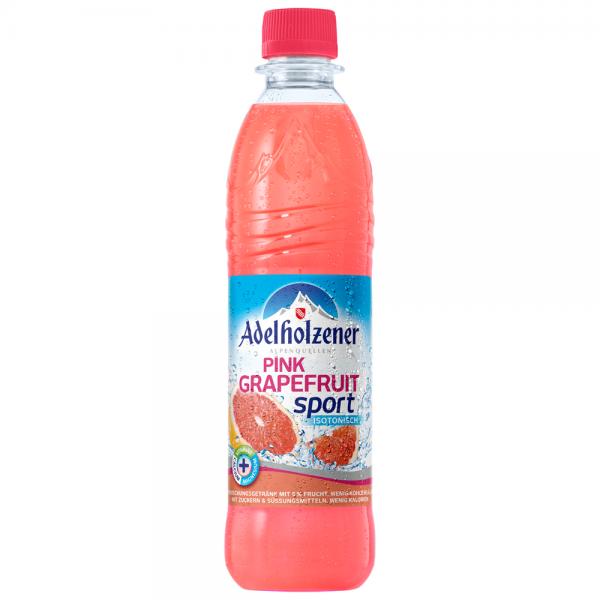 Adelholzener Pink Grapefruit Sport 12x0,5 l