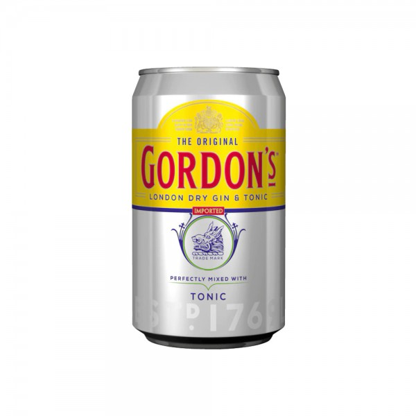 Gordon´s Gin & Tonic 10% vol. 4x0,33l Dose