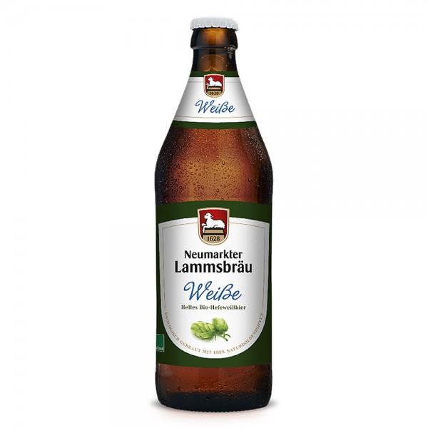 Lammsbräu Weißbier hell 10x0,5l