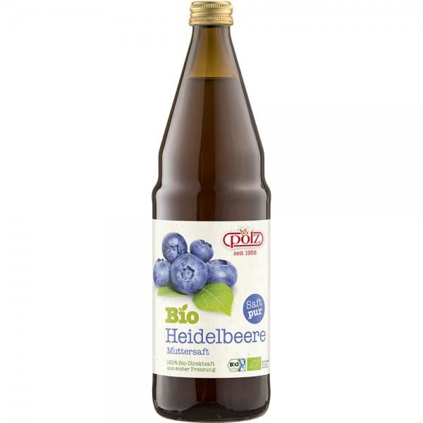 Pölz Bio-Heidelbeer Muttersaft 6x0,75l