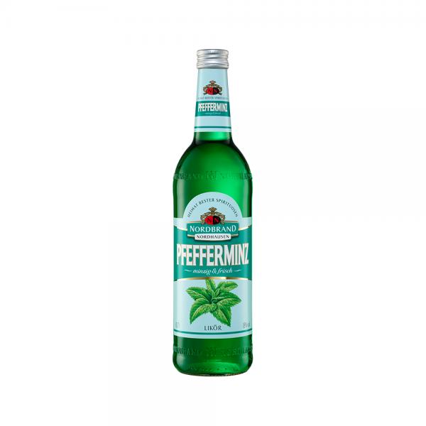 Nordbrand Pfefferminz Likör 18% vol. 0,7l