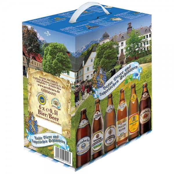 Bayerische Schlösser Biere Sommer 6x0,5l - MHD 26.05.2021