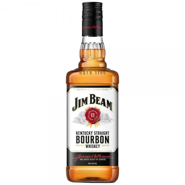 Jim Beam White Bourbon Whiskey 40% vol. 0,7l