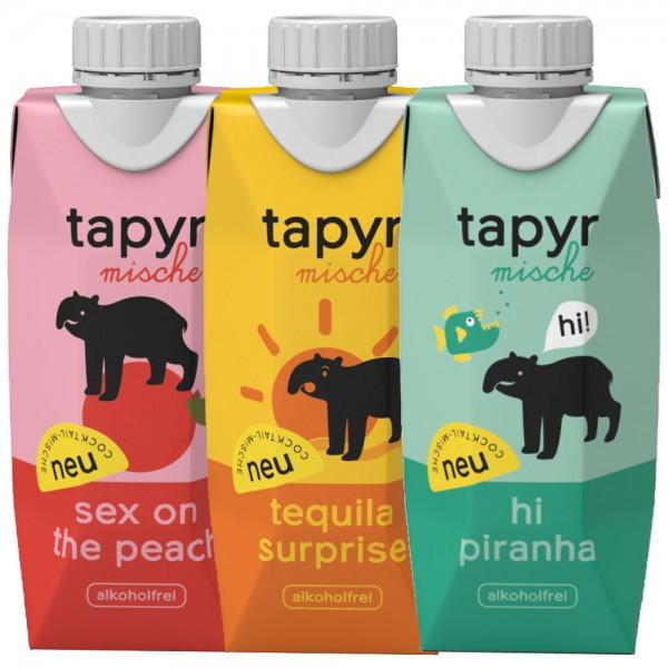 tapyr mische 3x2x0,33l