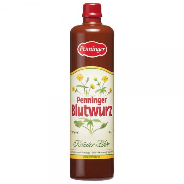 Penninger Blutwurz 50% vol. 0,7l