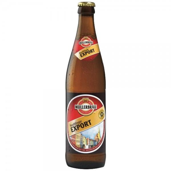 Müllerbräu Neuöttinger Export 20x0,5l
