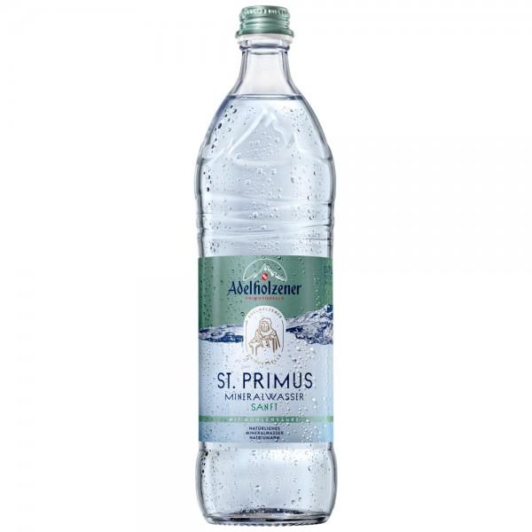 Adelholzener St. Primus Mineralwasser Sanft 12x0,75l
