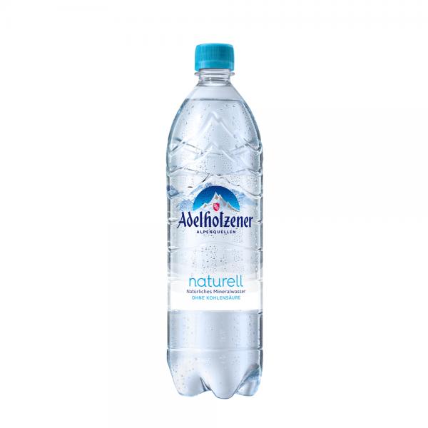 Adelholzener Naturell Mineralwasser 12x1,0 l