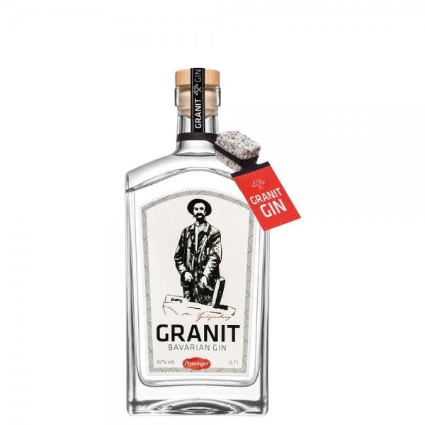 Penninger Granit Bavarian Gin 42% vol. 0,7l