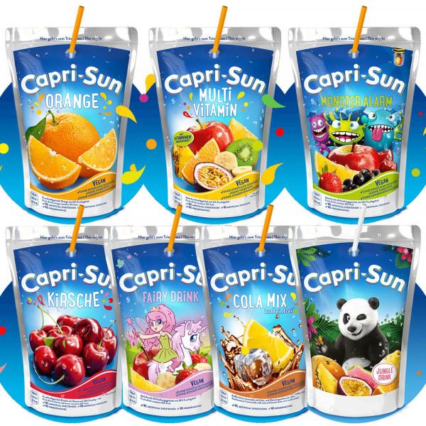 Capri Sun 6 Sorten 10x0,2l