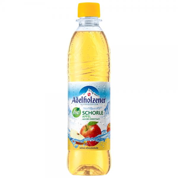 Adelholzener Gastro Bio Apfelschorle 12x0,5l