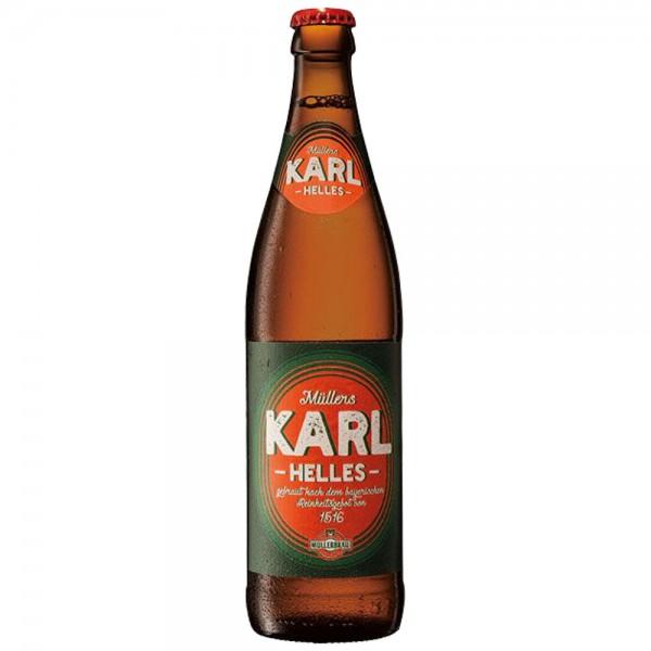 Müllerbräu Karl Helles 20x0,5l