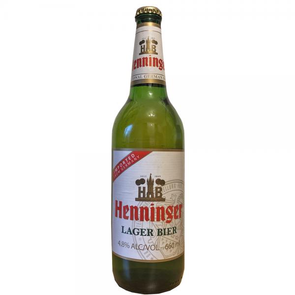Henninger Lager Bier 12x0,66l