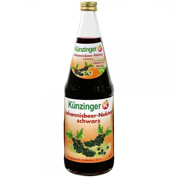 Künzinger Johannisbeer-Nektar schwarz 6x1,0l