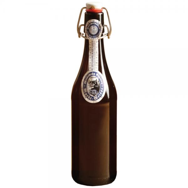 Kößlarner Markt-Weisse Bügelflasche 20x0,50l
